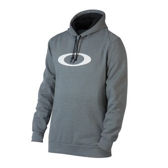 Sweat à capuche homme ELLIPSE PO athletic heather grey