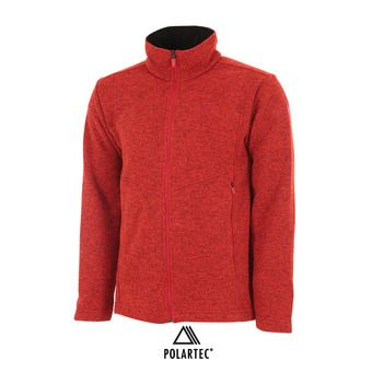 Veste polaire homme MISSION red eider