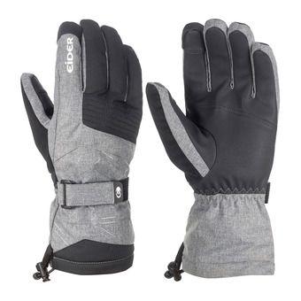 Guantes de esquí hombre EDGE heather grey