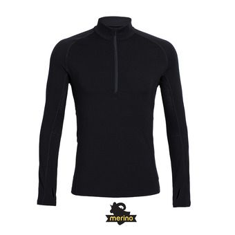 Sous-couche ML 1/2 zip homme EVERYDAY black