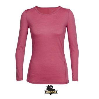 Camiseta mujer AERO wild rose/tulip