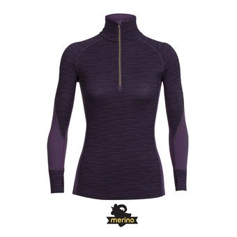 Camiseta térmica mujer WINTER ZONE eggplant/sulfur