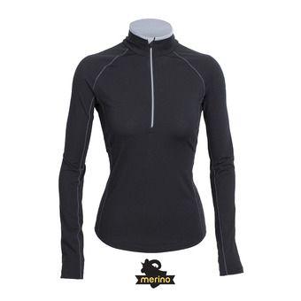 Camiseta térmica mujer ZONE black/mineral