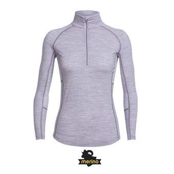 Camiseta térmica mujer ZONE silk hthr/eggplant