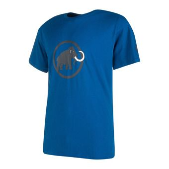 Camiseta hombre MAMMUT LOGO ultramarine