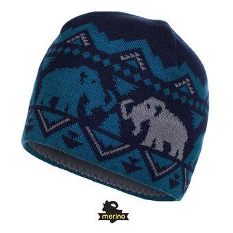 Bonnet MERINO marine/orion