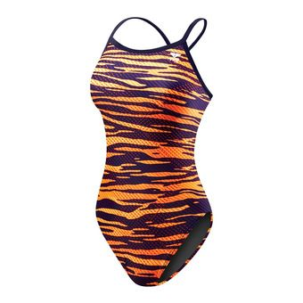 Maillot femme CRYPSIS DIAMONDFIT navy/orange