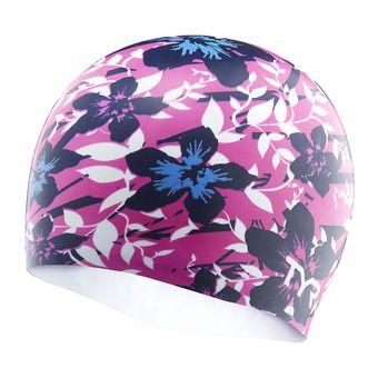 Gorro de natación HIBISCUS pink/blue