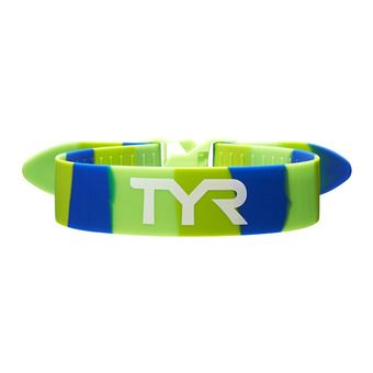 Elástico de entrenamiento TRAINING PULL green/blue