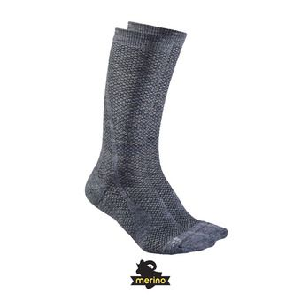 Calcetines WARM granito/plat