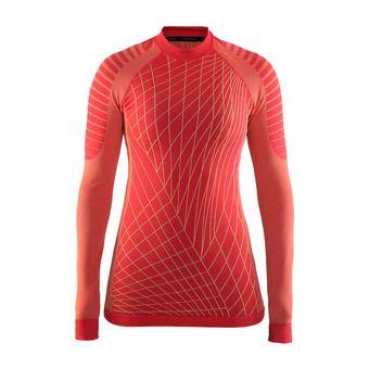 Camiseta térmica mujer BA INTENSITY RDC poppy/sprint