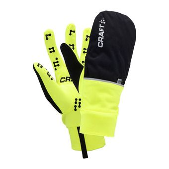 Gants 2 en 1 HYBRID WEATHER flumino/noir