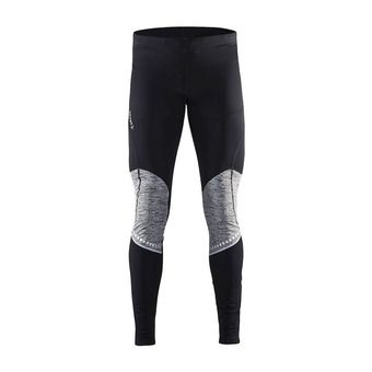 Collant homme COVER THERMAL noir/anthra chiné