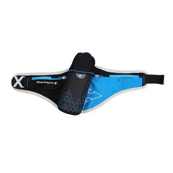 Cinturón de hidratación ISOTHERME + 1 botella negro/azul eléctrico