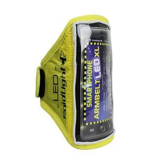 Brassard pour smartphone ARMBELT LED jaune