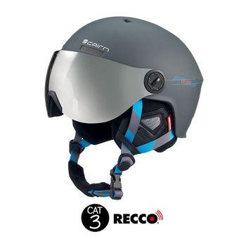 Casque de ski avec visière intégrée ECLIPSE RESCUE mat graphite