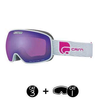 Masque de ski MAGNETIK SPX3I mat silver purple