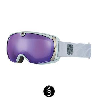 Masque de ski femme PEARL SPX3I mat white purple