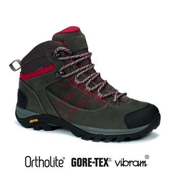 Chaussures de randonnée femme MOOVEN LTR WGTX dark grey/cherry