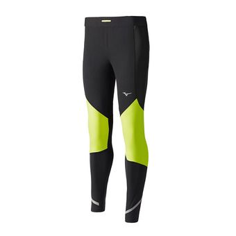 Mallas hombre STATIC BT WIND black/safety yellow