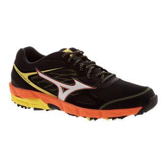 Zapatillas de trail hombre WAVE KIEN 4 black/silver/red orange