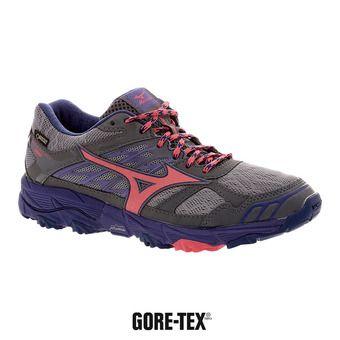 Chaussures de trail femme WAVE MUJIN 4 GTX griffin/paradise pink/deep blue
