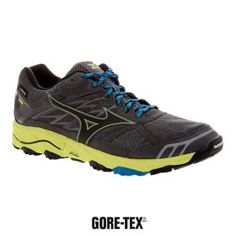 Zapatillas de trail hombre WAVE MUJIN 4 GTX castelrock/black/safety yellow