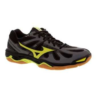 Zapatillas indoor hombre WAVE PHANTOM steel grey/safety yellow/black