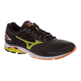 Zapatillas de running hombre WAVE RIDER 20 dark shadow/lime punch/vibrant orange