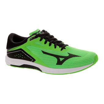 Zapatillas de running hombre WAVE SONIC neon green/black/white
