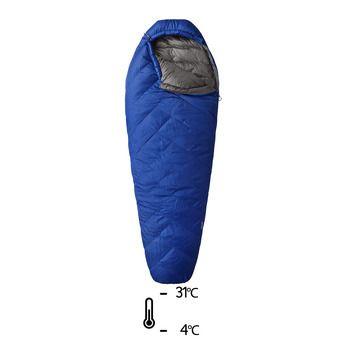 Saco de dormir -4°C/-31°C RATIO 15F azul