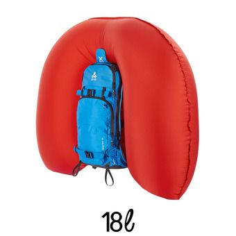 Sac à dos airbag 18L REACTOR bleu