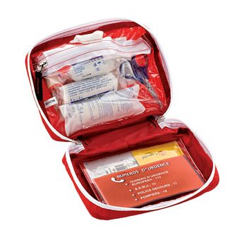 Botiquín equipado SMALL FIRST AID KIT rojo
