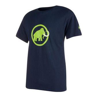Tee-shirt MC homme MAMMUT LOGO marine/green