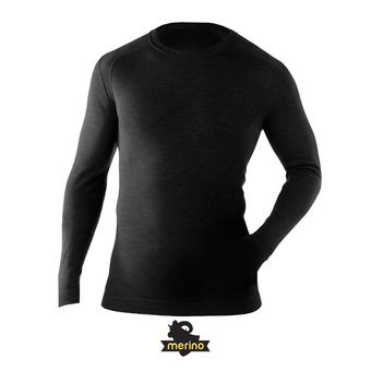 Camiseta térmica MERINO 250 CREW black