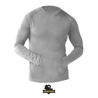 Camiseta térmica hombre MERINO 150 PATTERN light gray