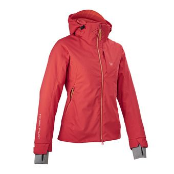 Chaqueta mujer ESSENTIAL red guava