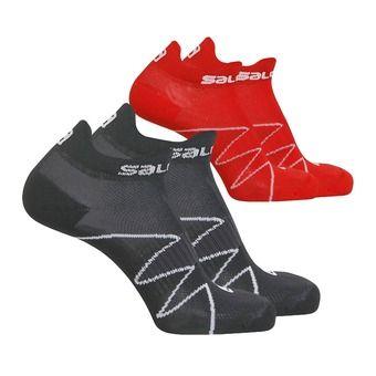 Lot de 2 paires de chaussettes XA SONIC black/dynamic