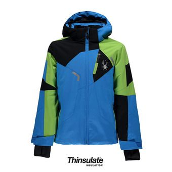 Chaqueta de esquí niño LEADER french blue/fresh/black