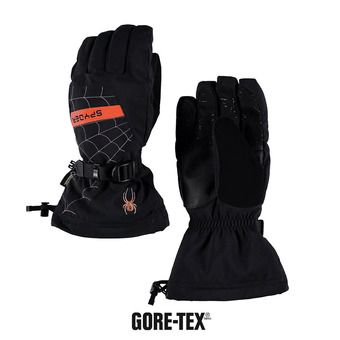 Guantes de esquí niño OVERWEB GTX® black/burst