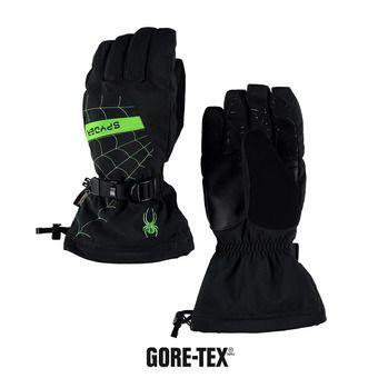 Guantes de esquí niño OVERWEB GTX® black/fresh