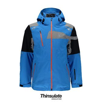 Chaqueta de esquí hombre TITAN french blue/black/polar herri