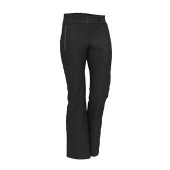 Pantalón de esquí Softshell mujer SHELLY negro