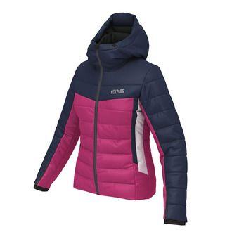 Veste de ski femme COUCHEVEL 1850 rose bleu