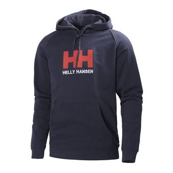 Sweat à capuche homme LOGO navy