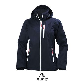 Chaqueta mujer CREW HOODED navy
