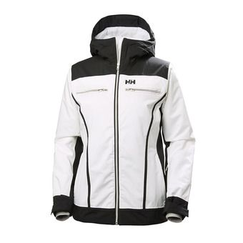 Chaqueta de esquí PrimaLoft® mujer BELLE white