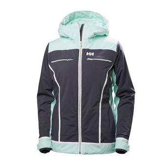 Chaqueta de esquí PrimaLoft® mujer BELLE graphite blue