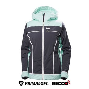 Veste de ski PrimaLoft® femme BELLE graphite blue