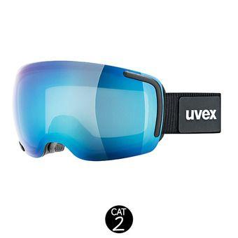 Masque de ski BIG 40 FM black-blue mat/mirror blue clear